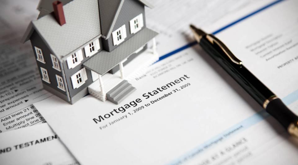 Mortgage statement.