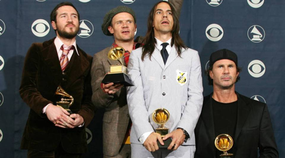 The Red Hot Chili Peppers are among the bands to be inducted into the Rock and Roll Hall of Fame in 2012.