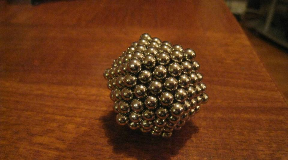 The Consumer Product Safety Commission says children are choking on buckyballs, the magnets seen above, and has filed a complaint.