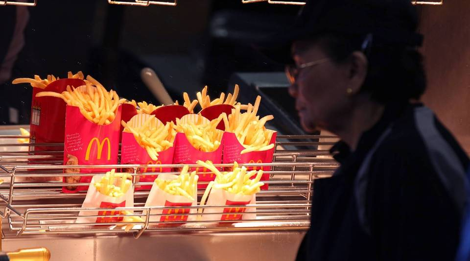 "When did the whole ""Do you want fries with that?"" line become so ubiquitous?"