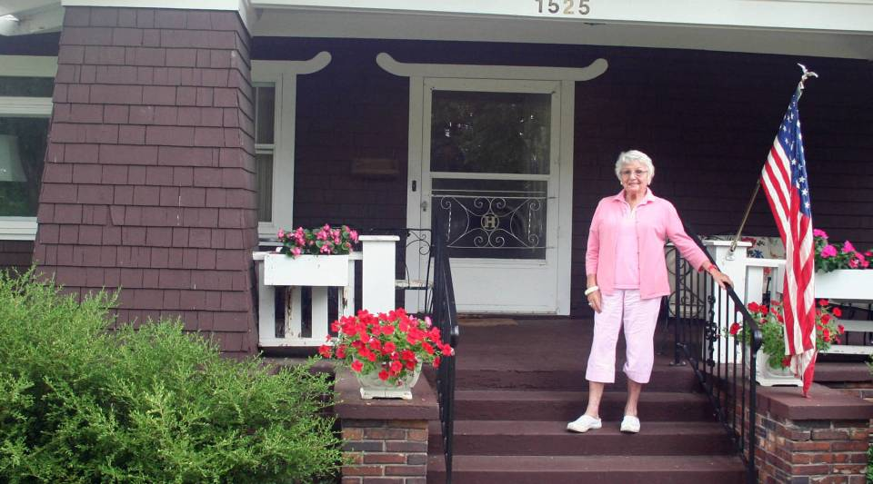Sylvia Henkin, 92, moved to Sioux Falls, S.D. in 1994, and watched the town multiply 10 times in size.