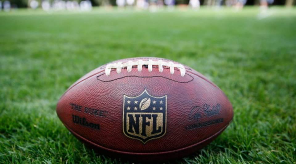 An NFL football.