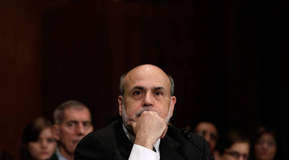 Federal Reserve Board Chairman Ben Bernanke, photographed in July.