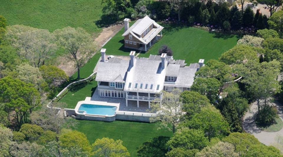 Jeffrey Colle's Pond House in the Hamptons.