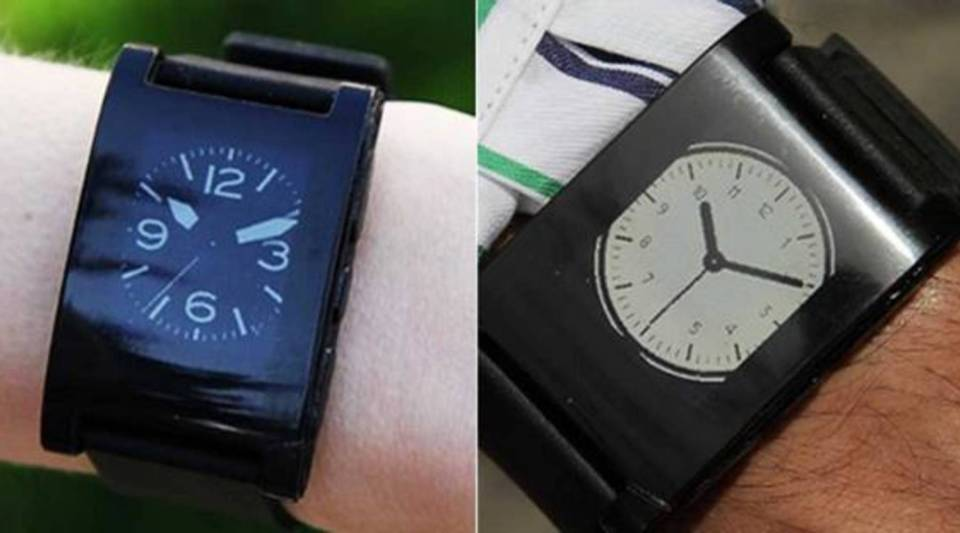 The Pebble (pictured above), a so-called smartwatch, could have some company soon - Samsung is predicted to announce their version of the smartwatch on Wednesday.