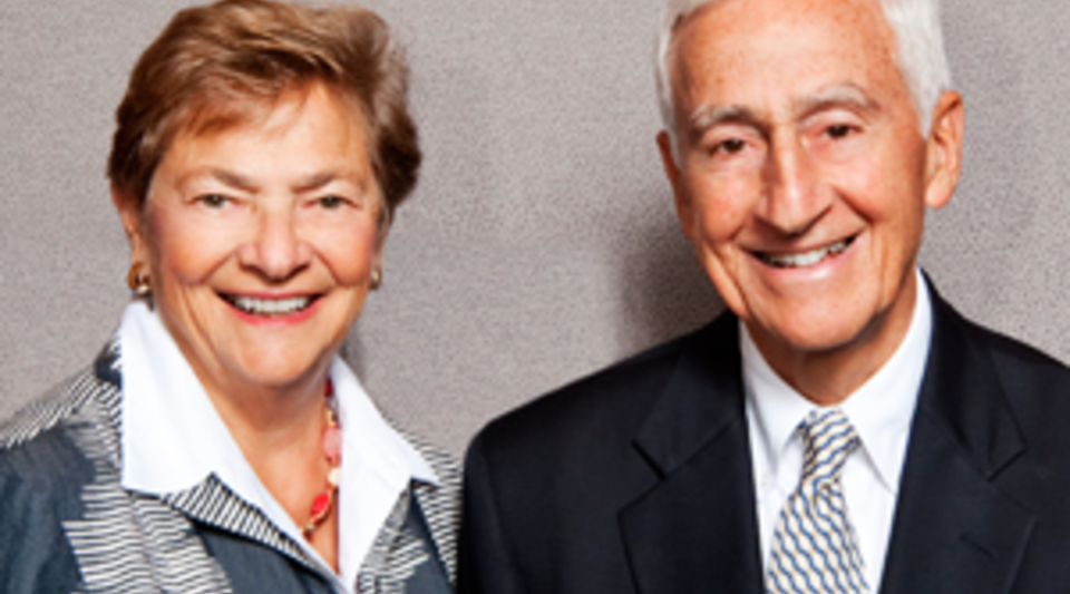 Diana and Roy Vagelos
