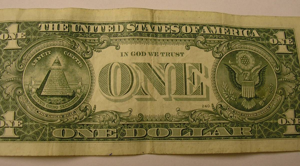 That creepy eye on the back of the dollar bill, explained