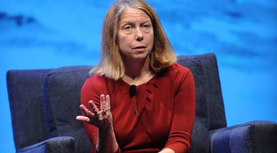 Jill Abramson , former New York Times executive editor, appeared at the Wired Business Conference on May 7, 2013 in New York.