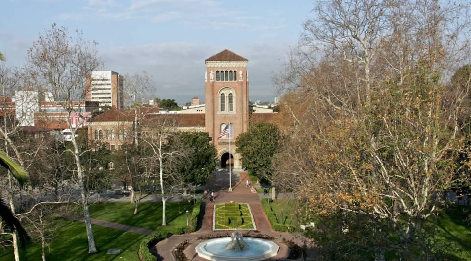 USC'sBovard Administration and Alumni Park