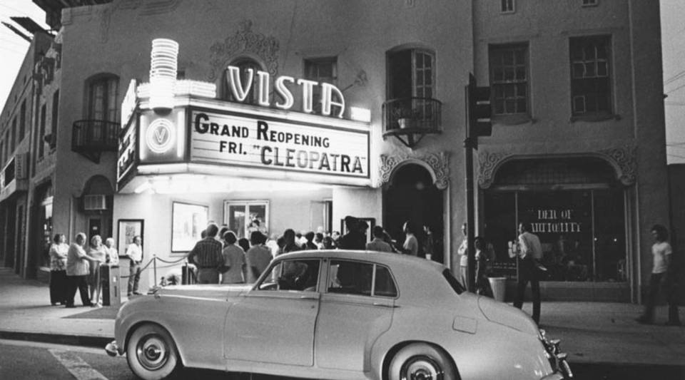 The Vista Theater's one screen means picking the right movie is crucial to business.