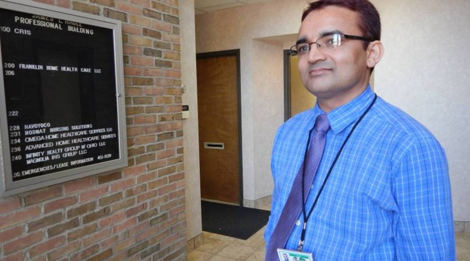 Tara Dhungana came to the U.S. five years ago after nearly two decades in a camp in Nepal. He's now the head of employment services for Community Refugee and Immigration Services in Columbus, Ohio.