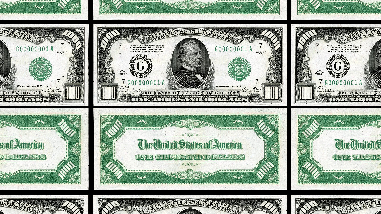 Why do we no longer use $1,000 bills? - Marketplace