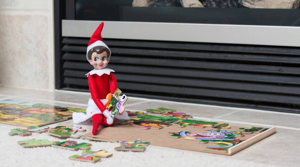 """Every copy of """"The Elf on the Shelf"""" comes with an elf."""