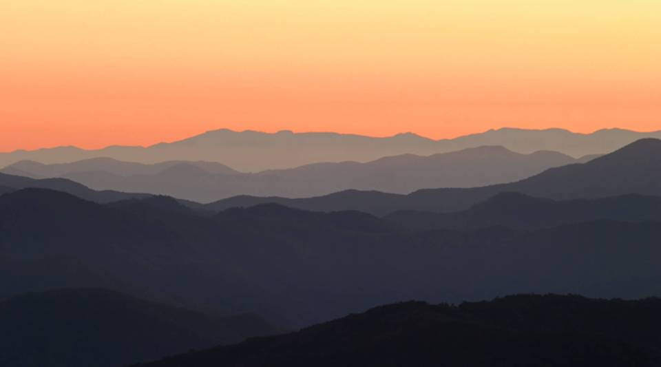 Great Smoky Mountains National Park, the most popular in the nation.