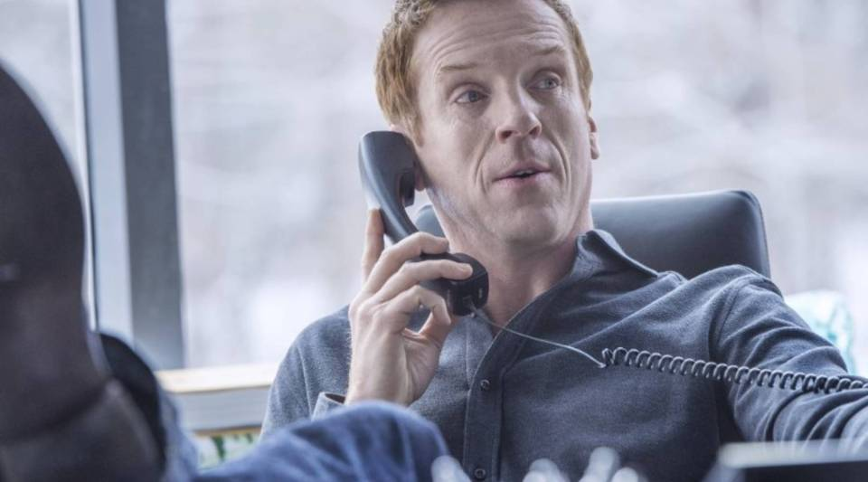 "Damian Lewis plays hedge-fund investor Bobby Axelrod in Showtime's new series ""Billions."""
