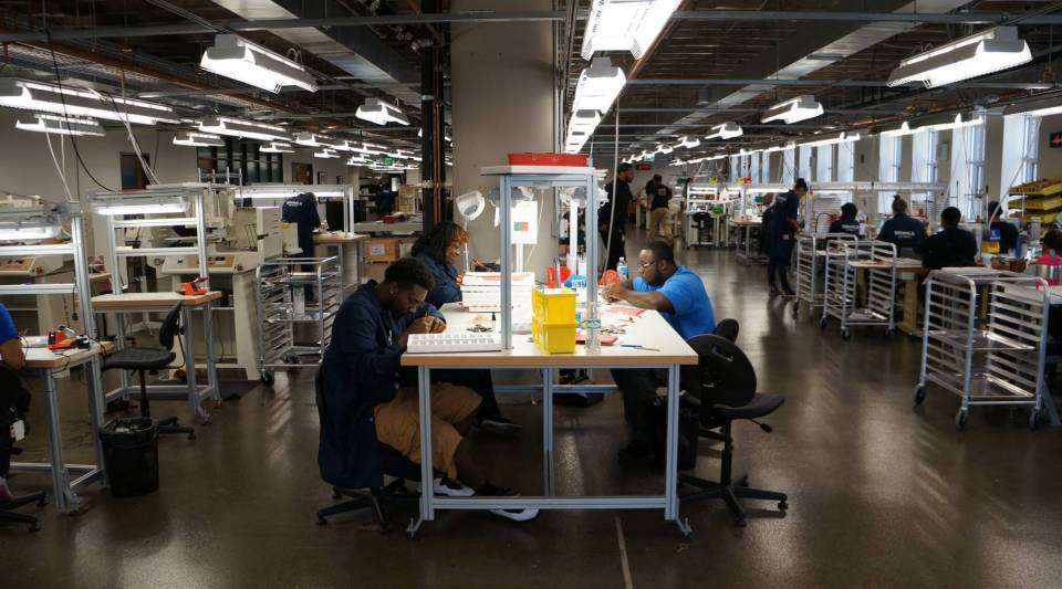 Shinola employs 260 people at its Detroit facility. Many of them are former auto workers, police officers and hospital workers