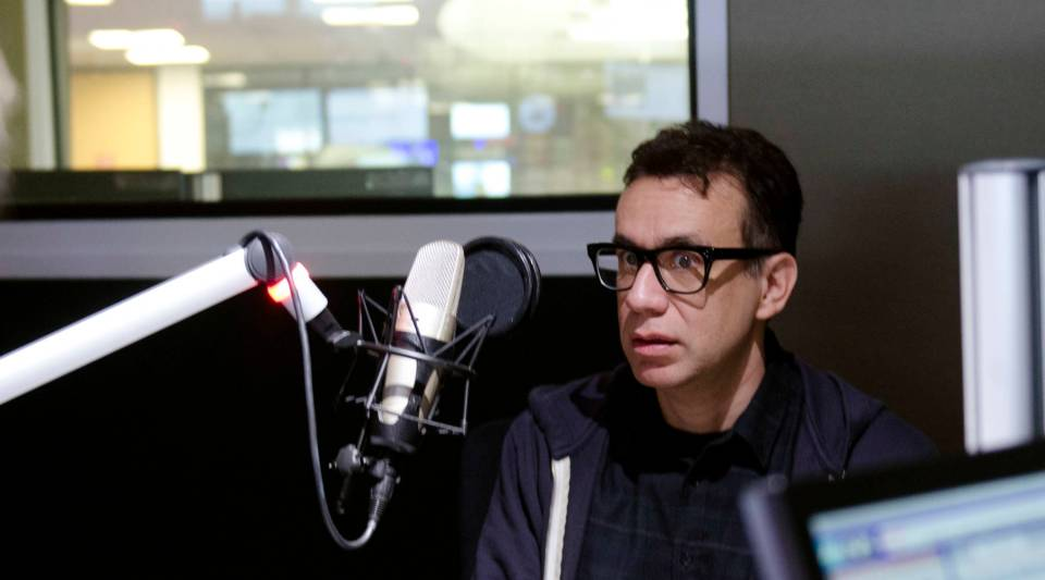 Fred Armisen in the Marketplace studios on Monday, January 11, 2016.