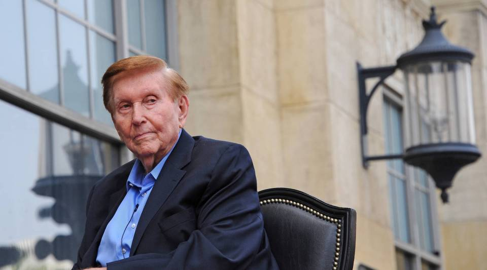 Sumner Redstone, executive chairman of CBS Corporation and Viacomstepped down from his post at CBS on Wednesday.