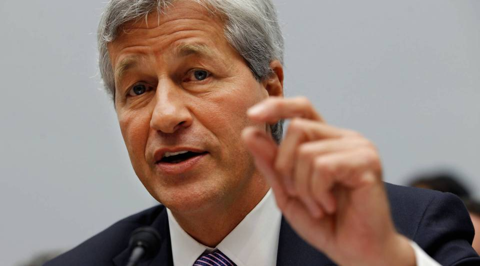 JPMorgan Chase & Co Chairman and CEO Jamie Dimon, who reportedly bought about $26 million worth of his bank's shares.