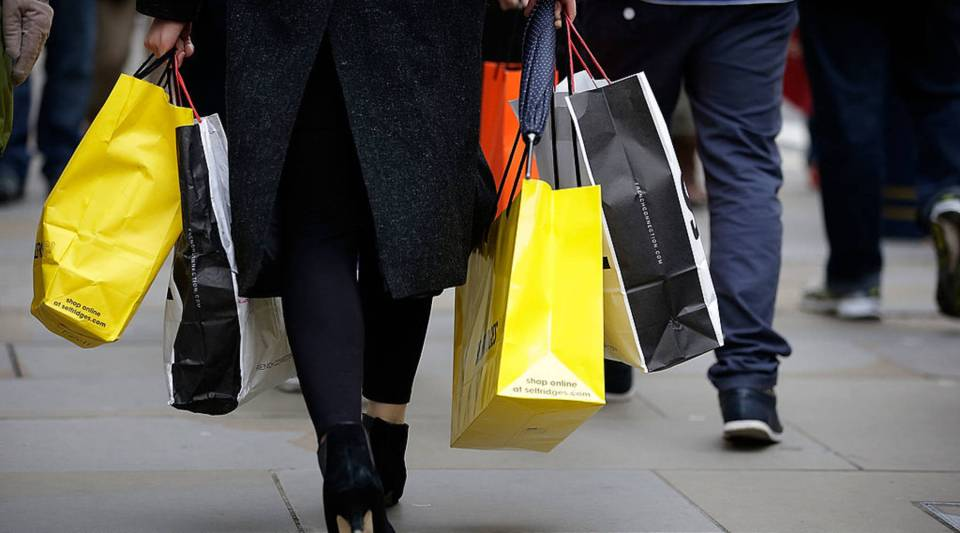 According to a new report, retail spending numbers aren't bad — they aren't great either.