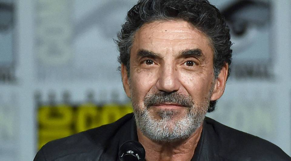 Writer/producer Chuck Lorre attends the Inside 'The Big Bang Theory' Writer's Room panel during Comic-Con International 2015.