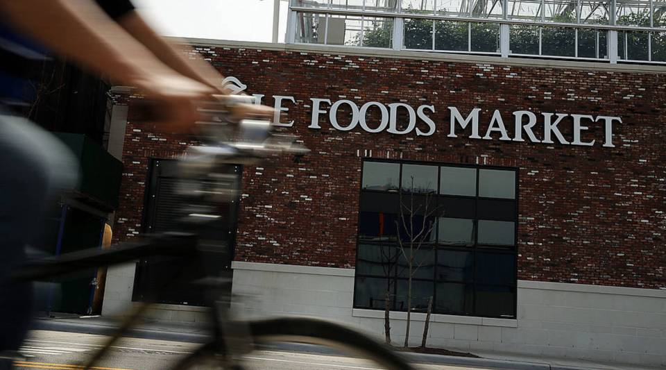 Whole Foods is reportedly investing in delivery service Instacart.