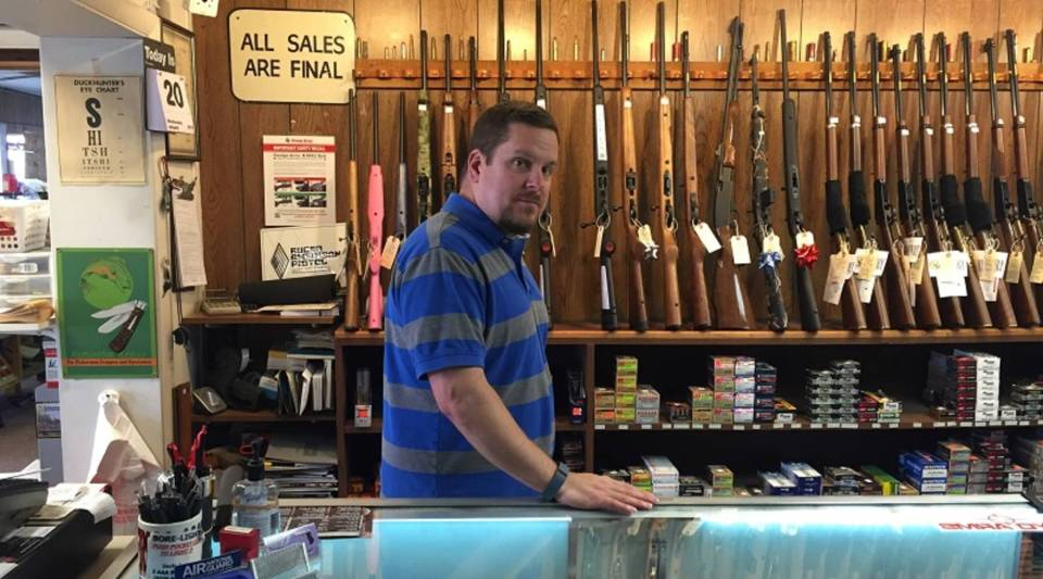 Ryan Allen, owner of Frontier Arms in Wyoming