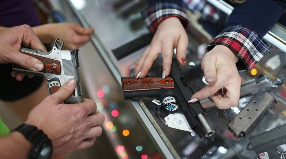 Gun sales are up nationwide; a third of U.S. households owns some kind of firearm.