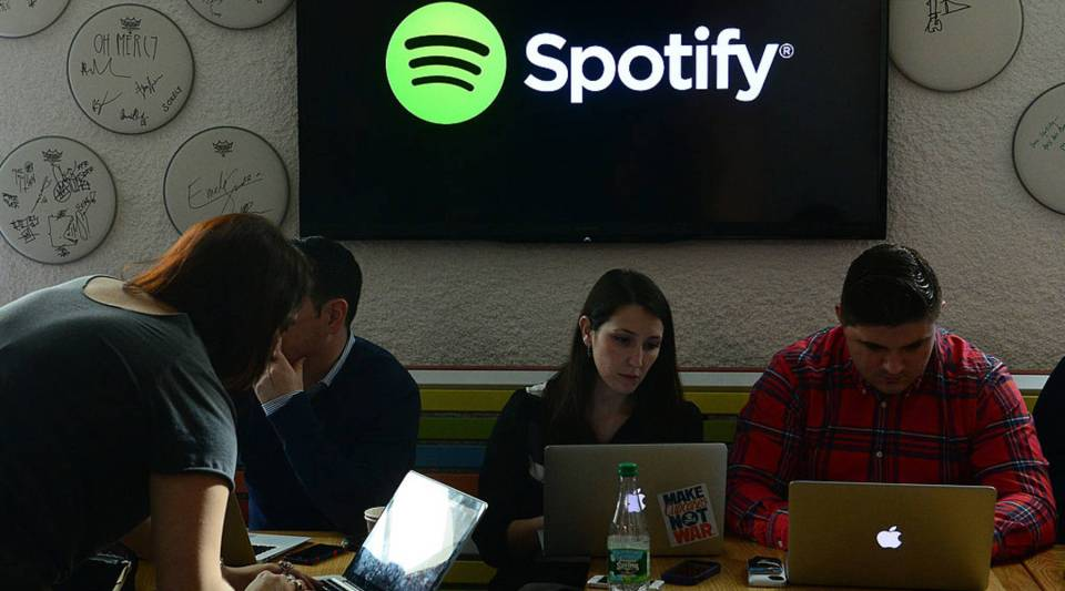 Streaming programs like Spotify use algorithms to learn about our listening habits.