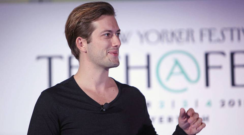 Founder and CEO of SoundCloud Alexander Ljung.
