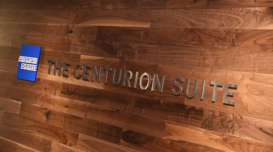 Members of the American Express black card enjoy perks like The Centurion Suite at the Barclays Center in New York City.