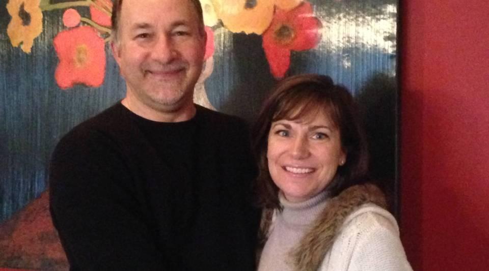 Ira Baron and his wife, Sharon Simon.