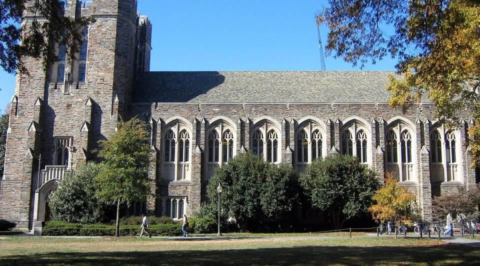 The Perkins Library at Duke University.