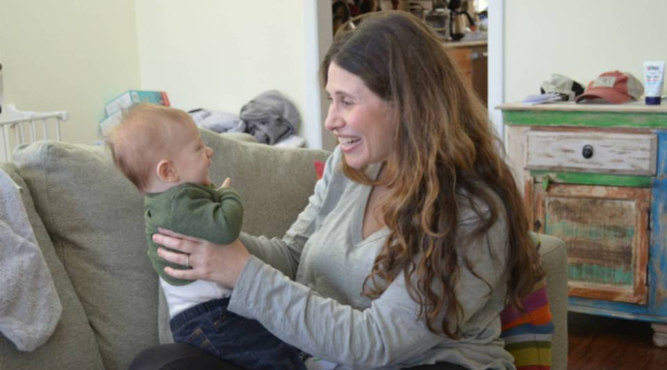 Rebecca Schrag Hershberg is a doctor and clinical psychologist specializing in early childhood development. Her own son is three months old. She says that when a baby suffers from toxic stress, certain parts of the brain can end up underdeveloped.