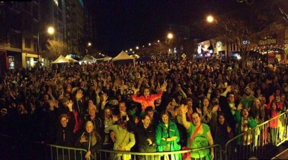During the first Music City Irish Festival in 2015, 10,000 people showed up for the free street fair.