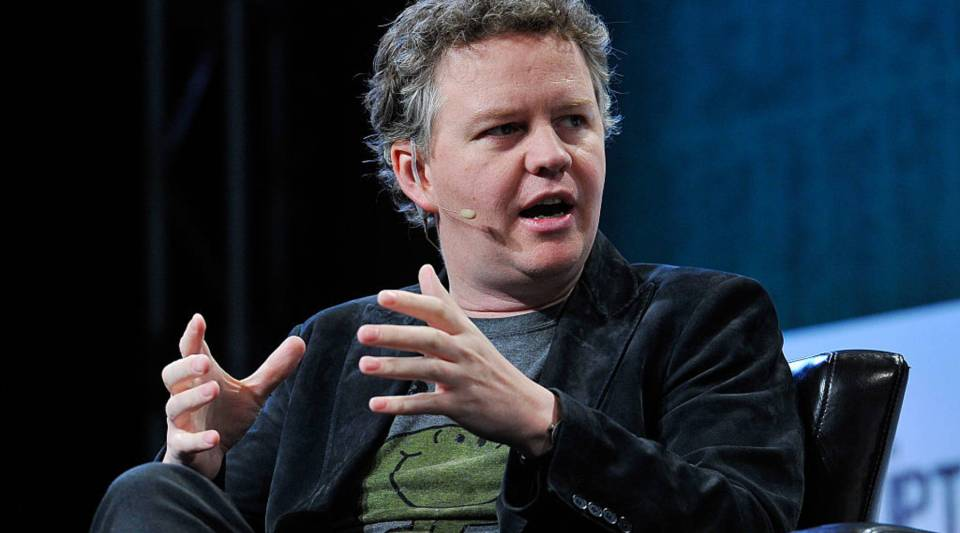 Matthew Prince of CloudFlare speaks onstage during day two of TechCrunch Disrupt SF 2015 at Pier 70 on September 22, 2015 in San Francisco, California.