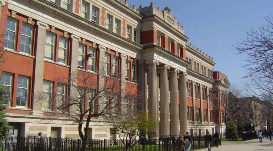 Lincoln Park High School in Chicago, Ill.