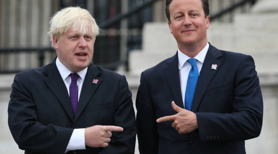 The rivalry between London Mayor Boris Johnson and Prime Minister David Cameron dates back to their school days.