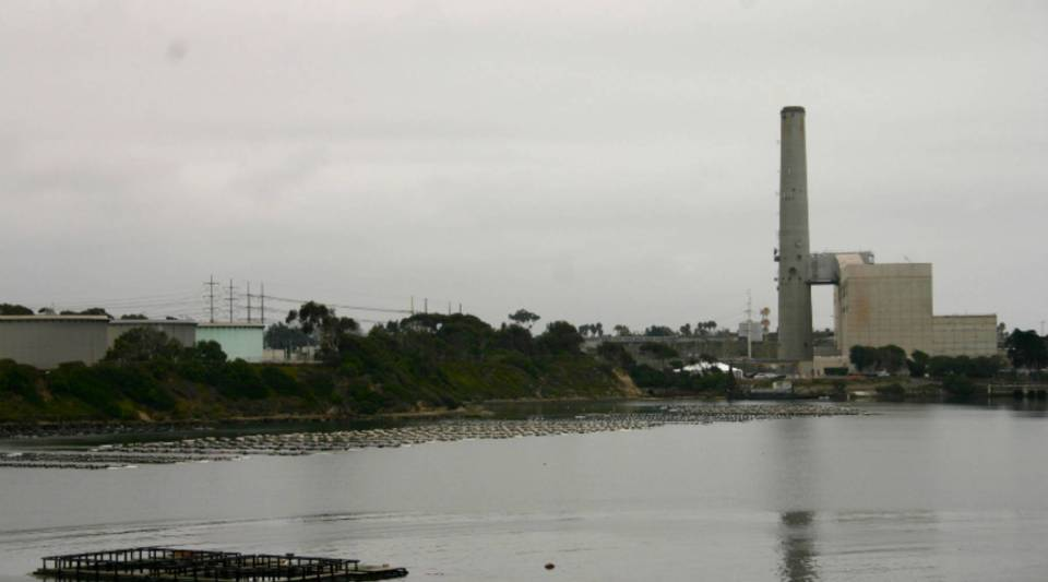 The site of the Carlsbad desalination plant.