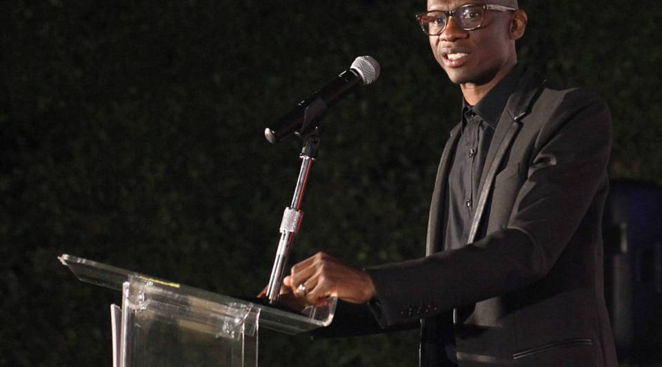 Troy Carter speaks onstage at an event on May 3, 2016 in Los Angeles.