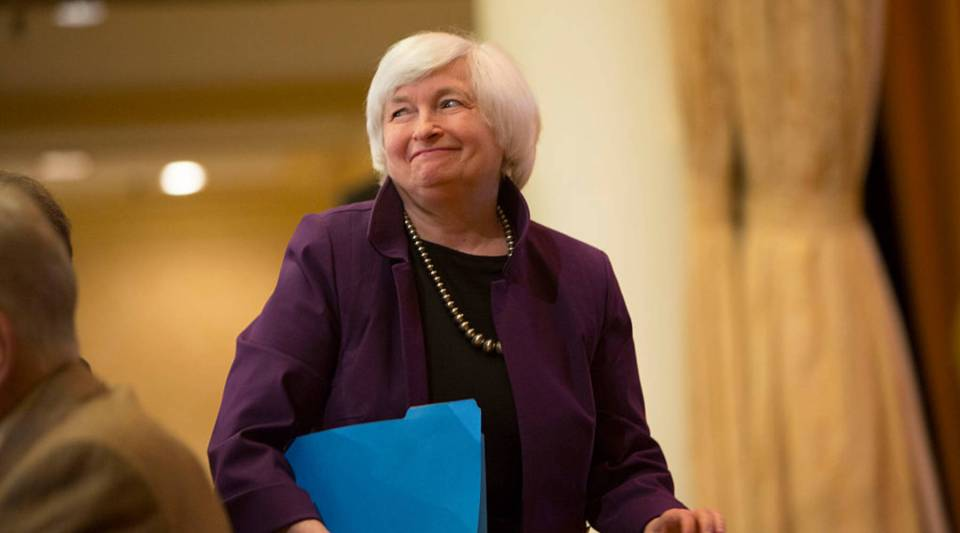 (She's probably not going to raise rates)