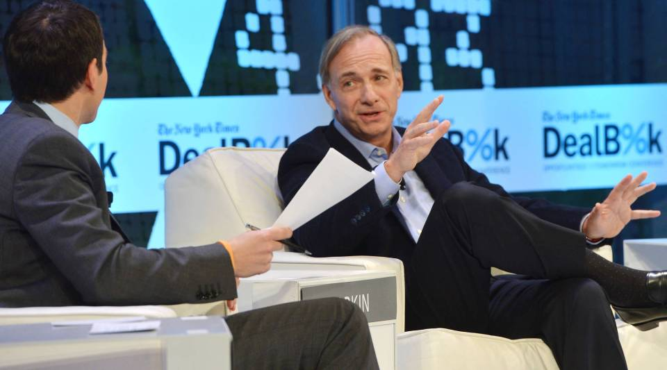 Founder of Bridgewater Associates Ray Dalio.