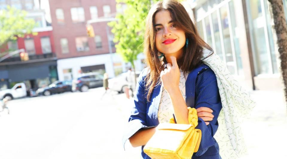 Blogger Leandra Medine.