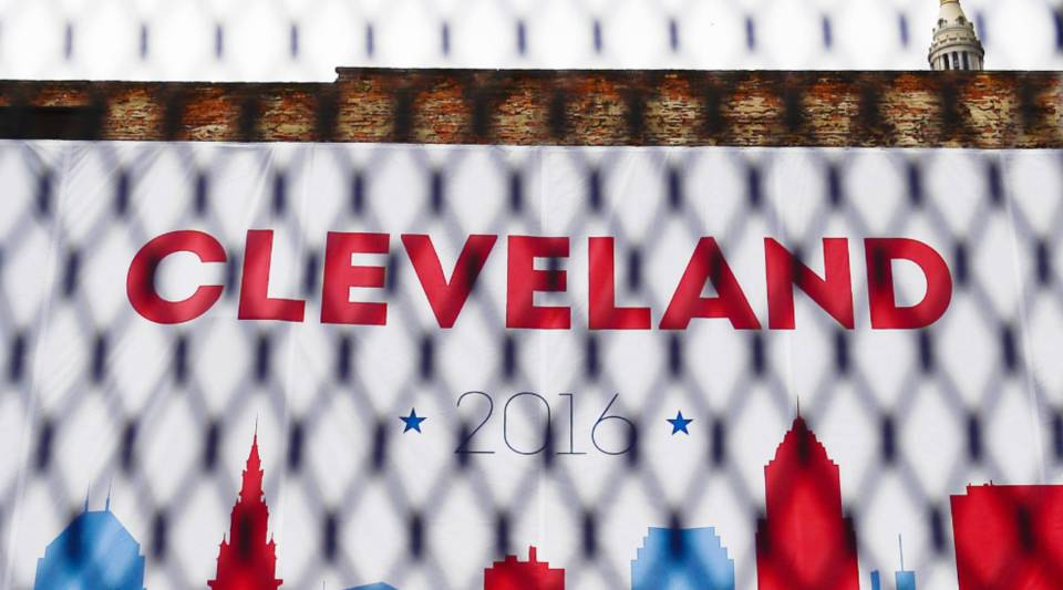 The four-day Republican National Convention kicks off Monday, with an estimated 50,000 people expected to attend.