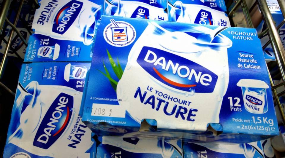 Danone is the largest yogurt maker in the world.