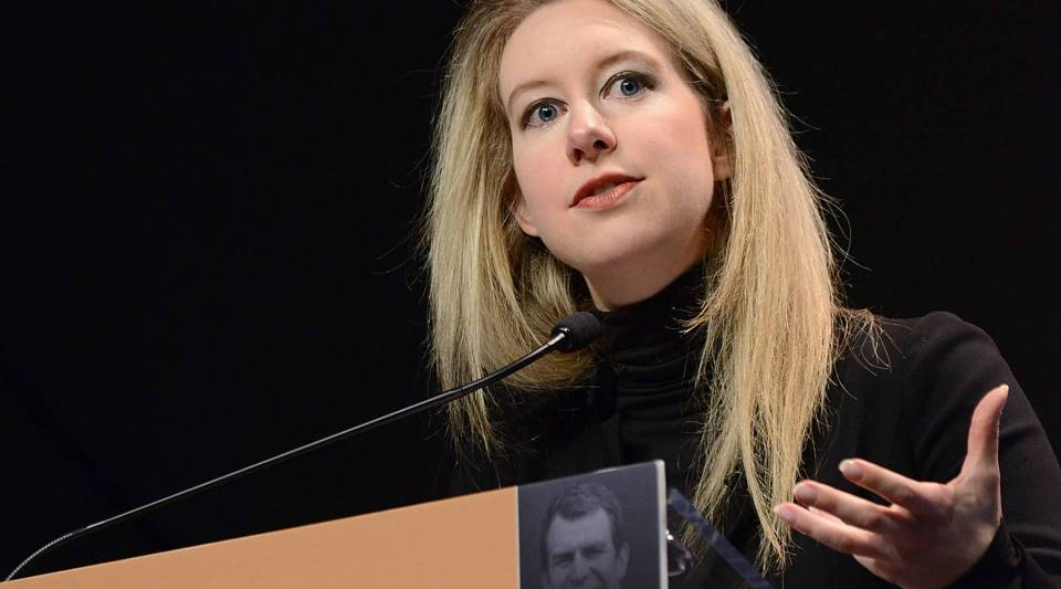 Theranos Founder and CEO Elizabeth Holmes speaks at Forbes' Under 30 Summit in October of last year.