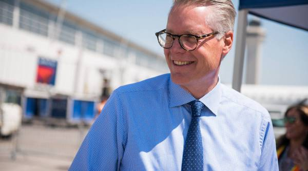 Delta Air Lines CEO on why he still flies in the back of the plane