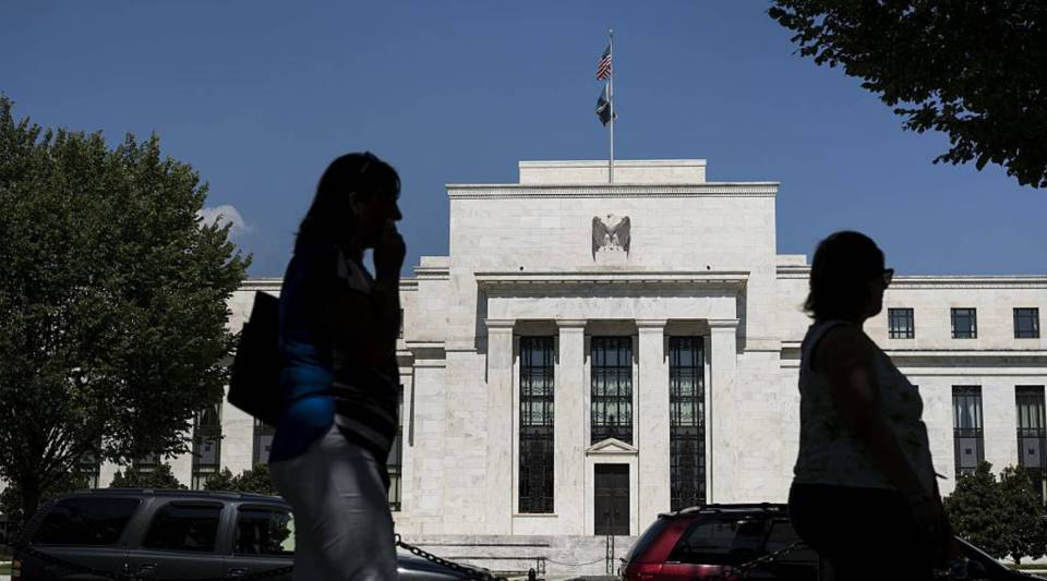 A view of the Federal Reserve September 17, 2015 in Washington, DC.