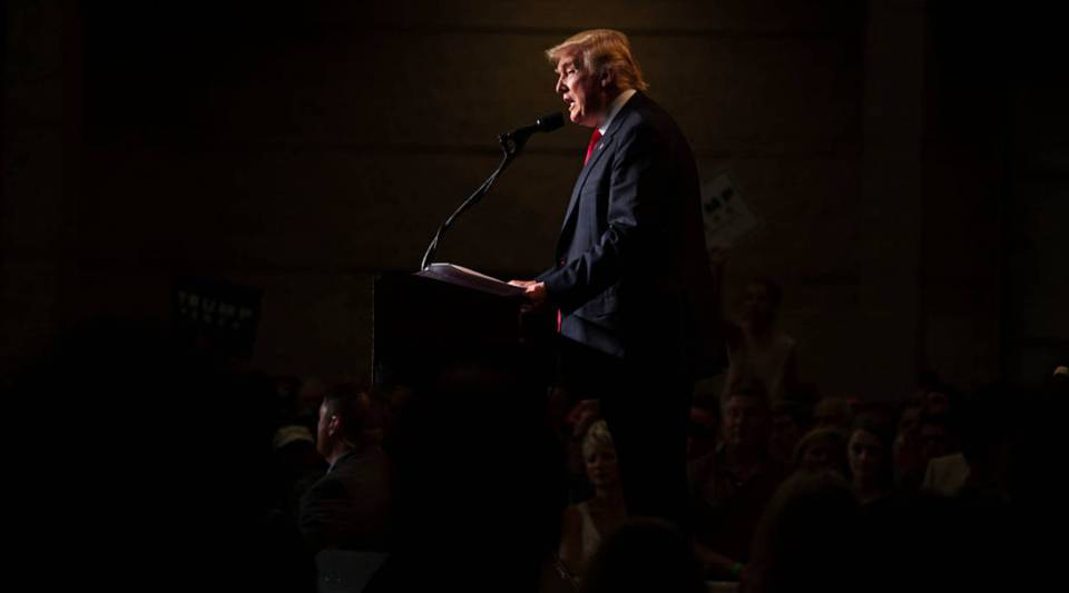 Trump gave a speech about his economic plan on Monday, but still left details out.