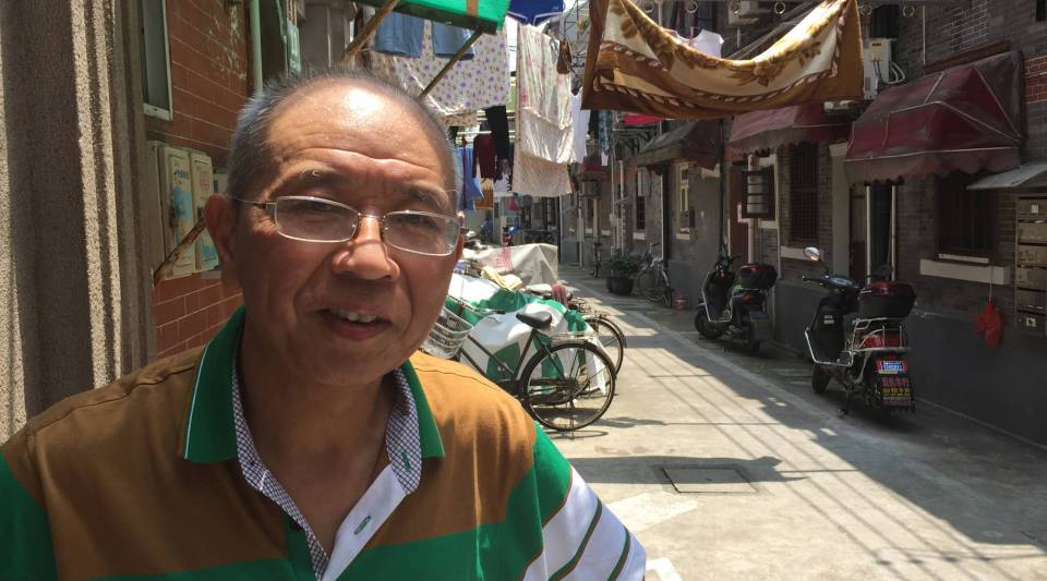 "Shanghai resident Peng Yunliang says he'd vote for Hillary Clinton if he could, though he believes she's ""too tough on China."""